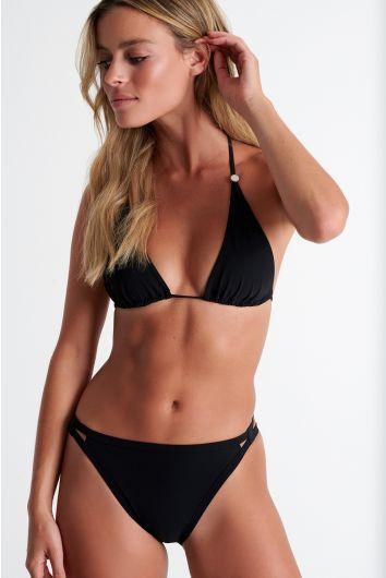 High cut bikini bottom