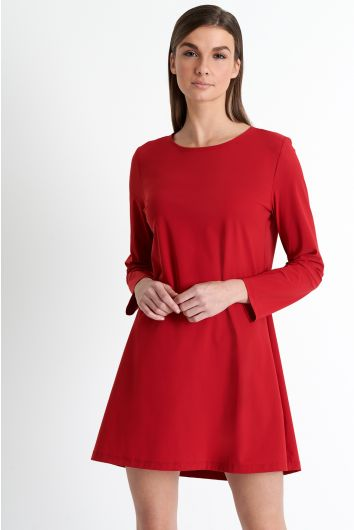 Classic SHAN round neck dress