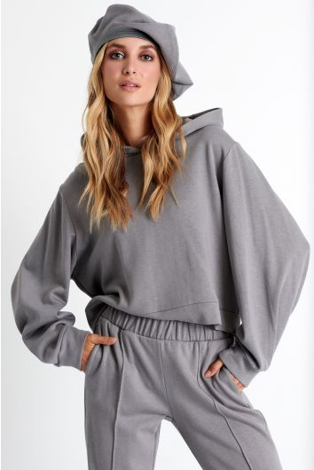 Puff sleeve hoodie - Sold Out
