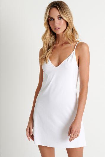 Short slip dress