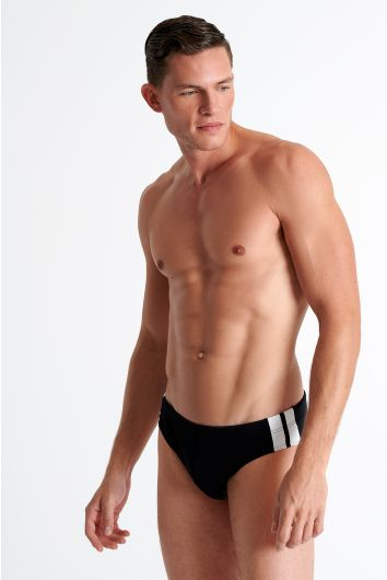 Sporty swim brief
