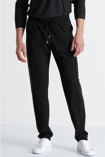 Lycra jersey cargo pants