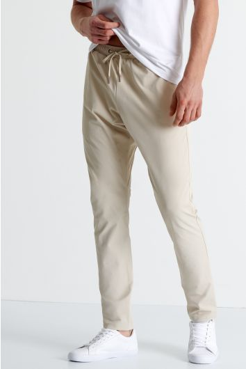 Stretch twill ergonomic pants