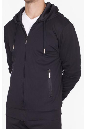 Versatile zip-up hoodie