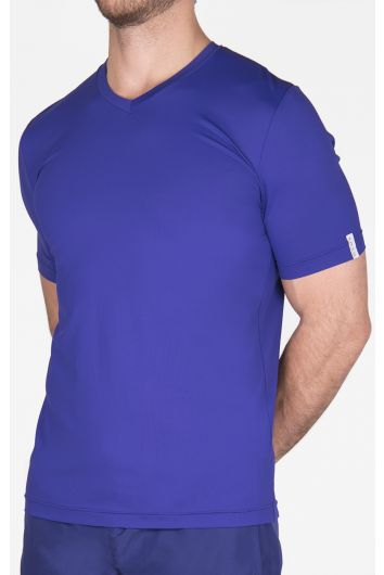 Microfiber V neck t-shirt